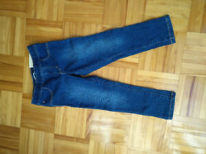 Jeans Tommy skinny fille 4 ans neuf