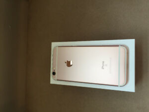 Rose gold iPhone 6s (Almost New)