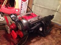 Chevy 350 crate motor with turbo 400 trans