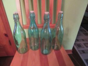 GLASS BOTTLES - DECORATIVE