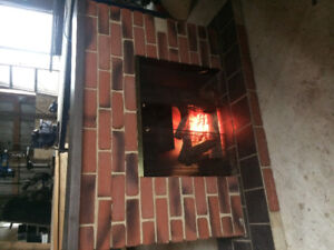 Electric Fireplace - free!
