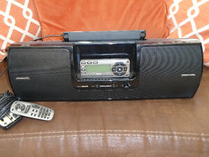 Sirius boom box and radio