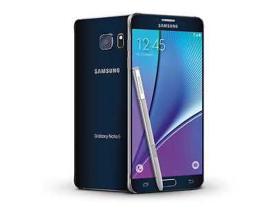 New Samsung Galaxy Note 5 N920A 32GB AT&T Unlocked GSM Android Smartphone Pitch-black