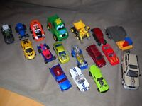 Autos/voitures variées Hot Wheel, Match Box, tracteur etc