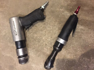 """Ingersoll Rand - Air hammer & 3/8"""" Air Ratchet combo"""
