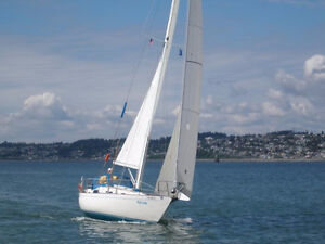 Contessa 32' sloop for sale