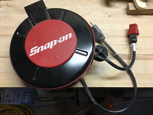 Snap-on Retractable extension cord