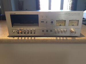 Vintage Toshiba Cassette deck PC-3060