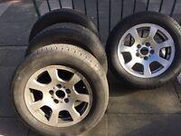 Bmw 16 inch alloy wheels 4x