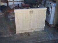 Used kitchen unit 1000