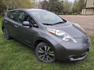 2015 Nissan Leaf SL All Electric Car With Winter Rims/Tires!!!