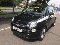 2009 Fiat 500 1.2 Black - Alloy Wheels