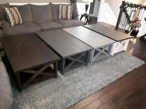 Solid wood coffee tables - Brand New, Just Built