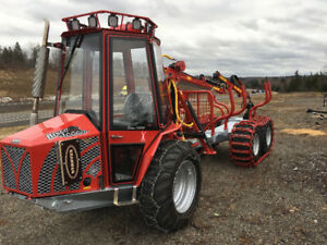 Bison 10000 In stand thinning forwarder from Kranman in stock