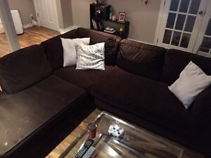 Brown Sectional Couch Kitchener / Waterloo Kitchener Area image 2