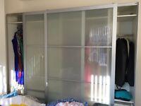 Ikea Pax Wardrobe 300cm x 256cm x64cm