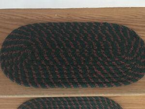 Braided stair threads