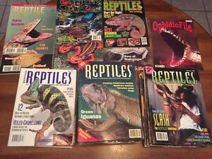 Collection of 80 Reptile Magazines