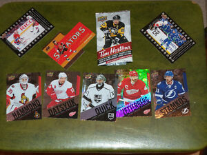 cartes de hockey TIM HORTONS