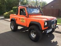1985 Land Rover defender 90. Pick up. Off roader project . 300tdi engine . May Px