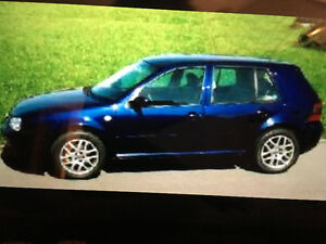 2001 Volkswagen Golf GTI 2.0 lt hatchback West Island Greater Montréal image 1