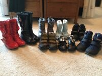 Children's winter boots - see details