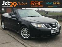 2008 SAAB 9-3 1.9 LINEAR TID (DRIVES LIKE ONE WITH HALF THE MILEAGE ON)