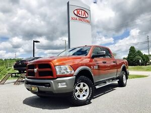 2013 Dodge Ram 2500 Crew Cab 4x4 OUTDOORSMAN