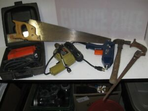 drill, jig saw, glue gun everything in pictures for 15.00