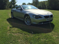 BMW 630 3.0 auto 2005 CONVERTIBLE FSH 1 OWNER HEADS UP DISPLAY EVERY EXTRA