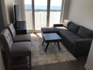 Condo furniture - moving sale - $500 for all pieces!!