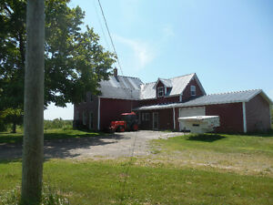 Farmhouse in Rural setting. 5.9 acres NEW PRICE
