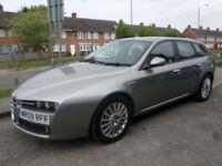 2009 Alfa Romeo 159 Sportwagon 1.9JTDM 16v Lusso 5DR 09 REG Diesel Grey