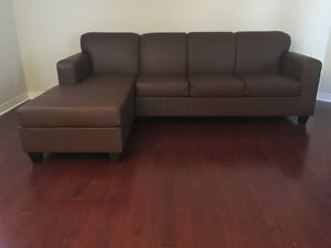 Brand New Comfy Canadian Made Sectional