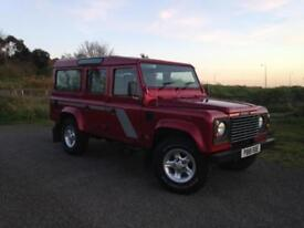 1997 Land Rover Defender 110 County Station Wagon 300 Tdi 12 Seater