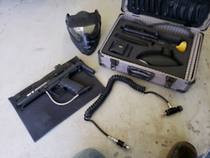 Tactical paintball kit