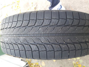 Michelin Snow tires on rims (set of 4)