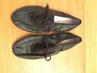 Bloch split-sole jazz shoes