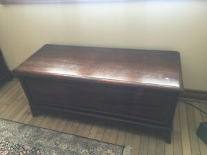 Vintage Furniture: Antique Cedar Chest