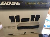 Bose lifestyle 48 series IV with stand in original box. Excellent condition