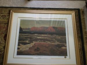 "Tom Thomson "" Petewawa Gorges - 1915 "" Limited Edition Print"