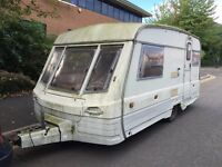 1990 2 berth swift corniche 14/2 caravan spares or repairs L@@k