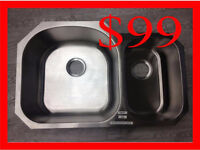 Stainless Steel Sink Blow Out Super Deal!!!