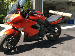 2011 Ninja 650r lots of upgraded