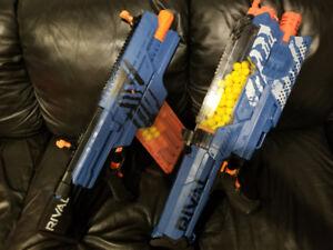 Nerf Rival - Nemesis + Khaos + 2 x Rechargeable Battery Packs