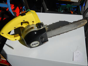 Chain Saw 10 in by Skil electric  in excellent condition