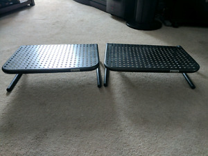 2x Computer Monitor Stands