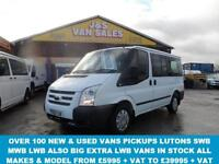 2012 12 FORD TRANSIT TOURNEO 2.2 280 TREND TOURNEO LR 9 STR 5D 125 BHP LOW MLS 5