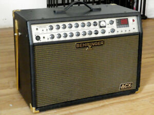 BEHRINGER ACUSTIC CXR1000 GUITAR AMP WITH 100 PRESETS EFFECTS