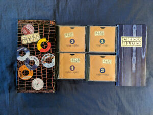 A VENDRE..COMPILATION..BOX SET..4CD..CHESS BLUES..MUSIQUE BLUES.